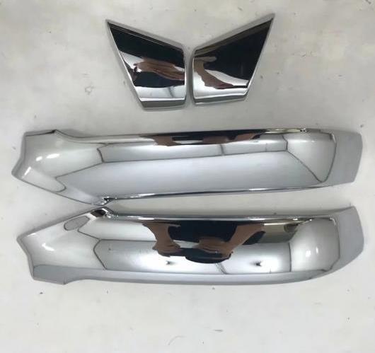AL アウディ Q5 2018 2019 サイドドア バック リア ビュー ミラー ストライプ フレーム モールディング カバー トリム ABS クローム AL-BB-6585