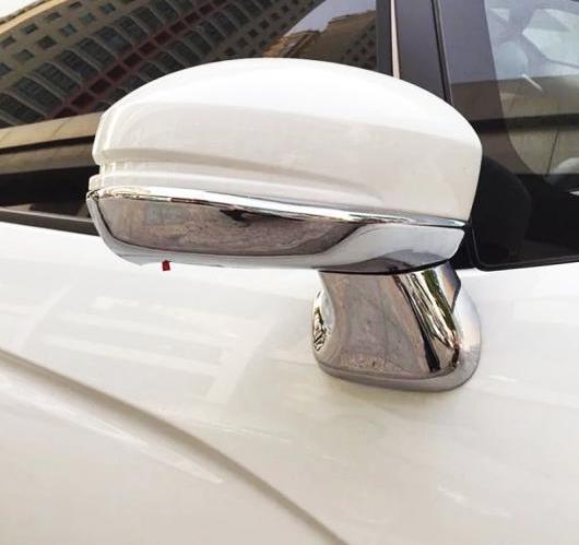 AL ホンダ フィットジャズ2014 2015 ABS クローム リア VIEW ミラー バック カバー ピラー トリム 4ピース AL-BB-7069