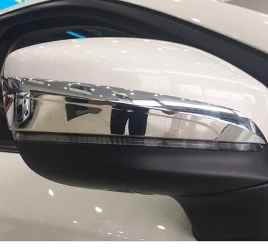 AL マツダ CX-9 CX9 2017 2018 ABS クローム バック ミラー カバー トリム ストライプ 4ピース AL-BB-7104