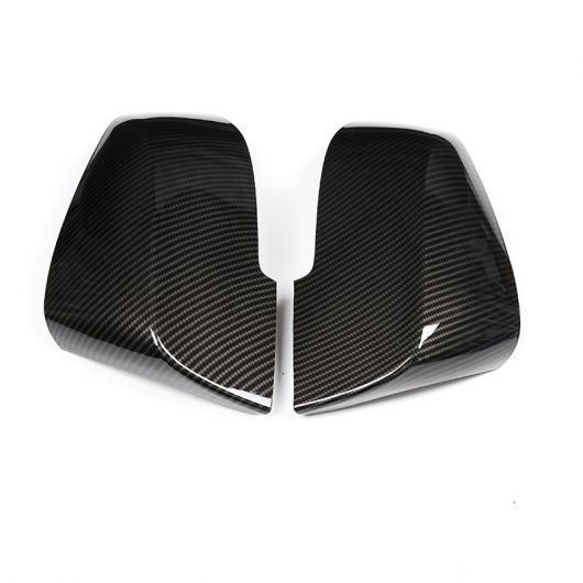 AL カーボンファイバー ABS サイドバックミラーキャップ カバー トリム BMW 3 4 シリーズ GT F30 F31 F32 F33 F34 F36 2013-2018 アクセサリ カーボン AL-CC-7168