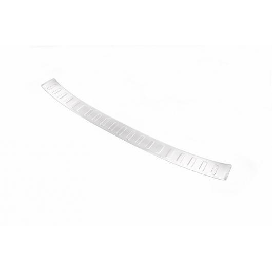 AL ステンレス スチール リア アウトサイド バンパー プレート カバー ランドローバーレンジローバースポーツ ヴォーグ L405 2013-2018 シルバー AL-CC-7211
