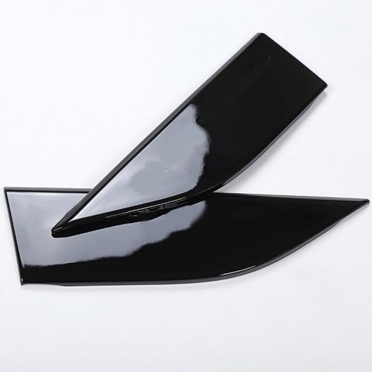 AL ランドローバー ディスカバリー5 LR5 ABS プラスチックグロスブラック サイドエアフェンダーサイドパネルベント カバー トリム 2ピース Gloss black AL-CC-7249