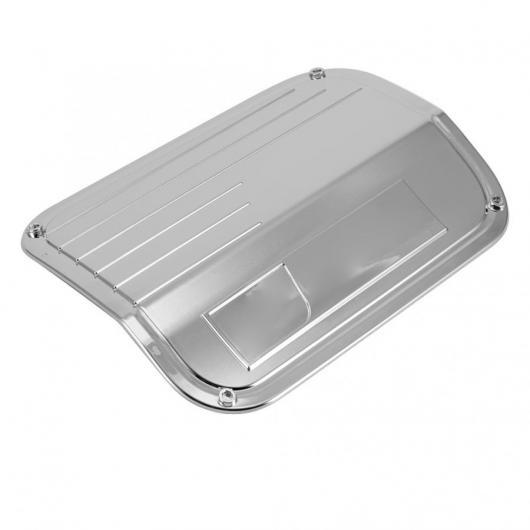AL ガスタンクキャップ フューエル タンクキャップガスオイルボックストリム カバー ステッカー トヨタ レクサス ES200 18-19 ABS プラスチック アクセサリー シルバー AL-DD-1381