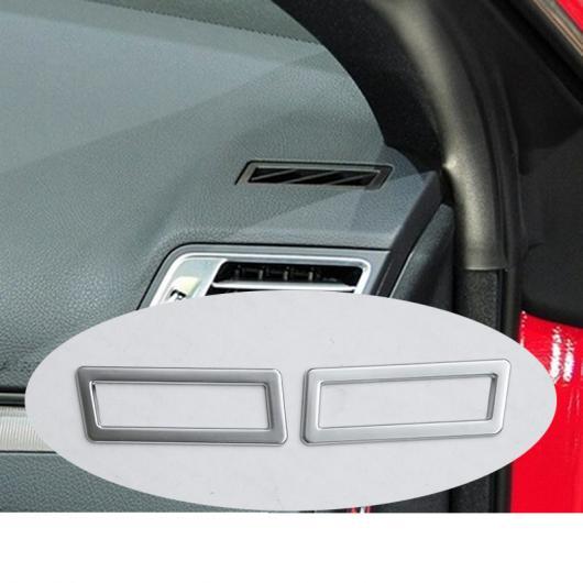 AL 2本 シルバー ABS ダッシュボード エアコン ベント カバー トリム メルセデスベンツ E クラスクーペ W207 C207 2009-2017 AL-DD-4479