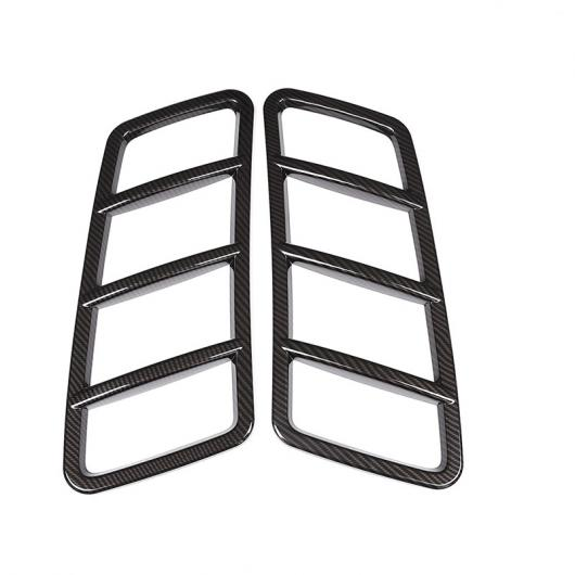 AL 2個 カーボン調 ABS クローム ルーフ フードフレームトリム メルセデスベンツ ML GL GLE GLS クラス W166 2013-2018 カーボン AL-DD-5438