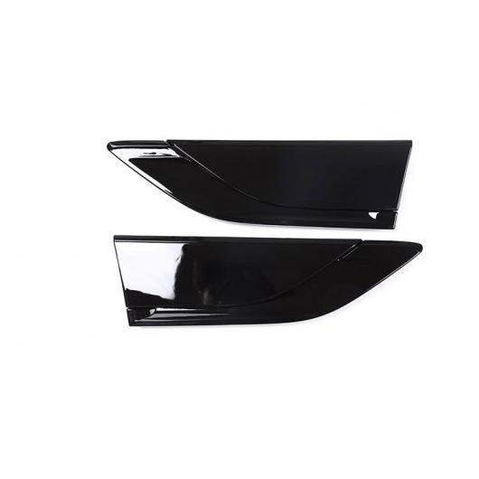 AL ABS ピアノブラックサイドエアフェンダーベント ローバーディスカバリー 5 LR5 2017 2018 L462 アクセサリ リプレースメント パーツ Gloss Black AL-DD-5503