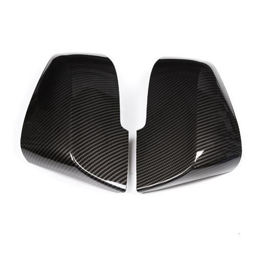 AL カーボン調 ABS サイドバックミラーキャップ カバー トリム BMW 3 4 シリーズ GT F30 F31 F32 F33 F34 F36 2013-2018 カーボン AL-DD-5548