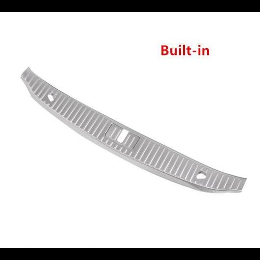 AL ステンレス スチール トランク ドア シル プレート メルセデスベンツ S クラス 320 400 2014-2018 リアガード バンパー カバー Built-in AL-DD-6794