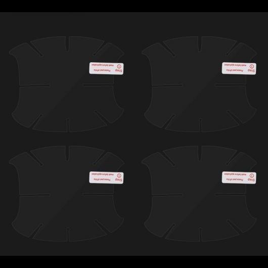 AL ドアボウル保護 フィルム 4個 ボルボ XC60 2018-19 PVC 外装ドア 傷防止プロテクターステッカー 4 Pieces AL-DD-6810