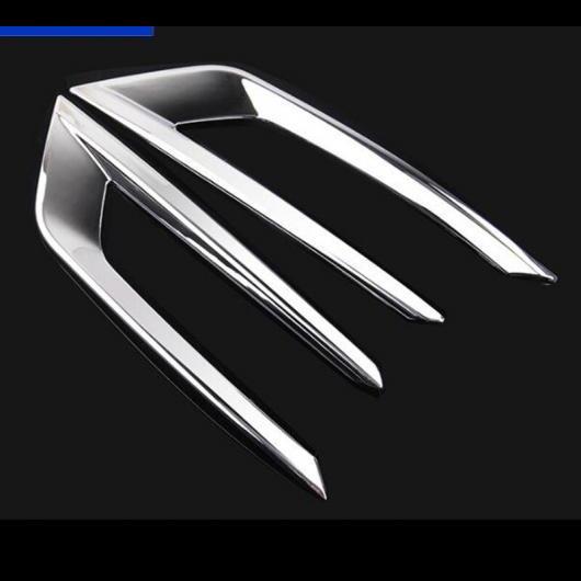 AL フロントフォグランプ 装飾 フレーム ボルボ XC60 2018 クローム ABS スタイリング ヘッドライトトリムストリップ アクセサリ 2 pieces AL-DD-6834