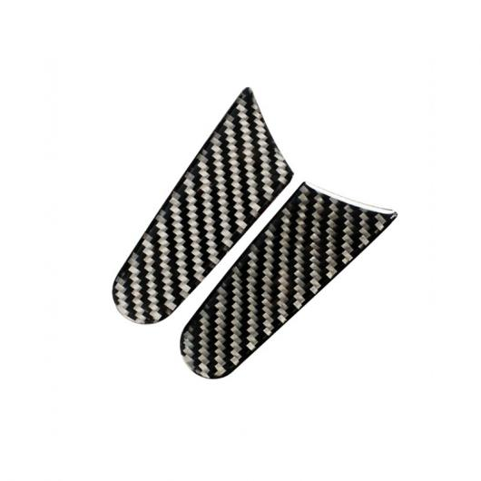 AL 外装バックミラーパネル ステッカー ポルシェ マカン 2015-18 カーボンファイバー スタイル衝突防止デカール Carbon Fiber Black AL-DD-6957