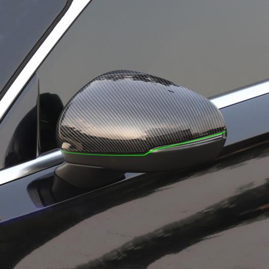 AL カーボン調 バックミラー カバー デコレーションステッカー メルセデスベンツ クラス A180 200 2019 外装スタイリング 選べる2バリエーション Black・Carbon Fiber Color AL-DD-6761