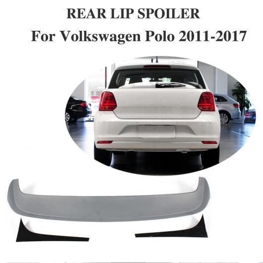 AL 車用外装パーツ ABS リア ルーフ スポイラー ウイング 適用: VW フォルクスワーゲン ポロ GTI R 2011-2017 リア トランク リップ ウイング AL-DD-7987
