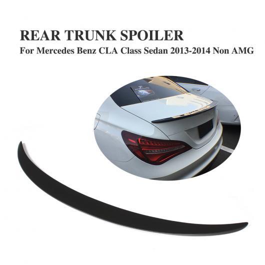 AL 車用外装パーツ FRP ブラック リア ブート スポイラー 適用: メルセデスベンツ CLAクラス CLA250 CLA200 CLA220 CLA180 CLA260 セダン 2013-2014 リア トランク リップ ウイング AL-DD-8005