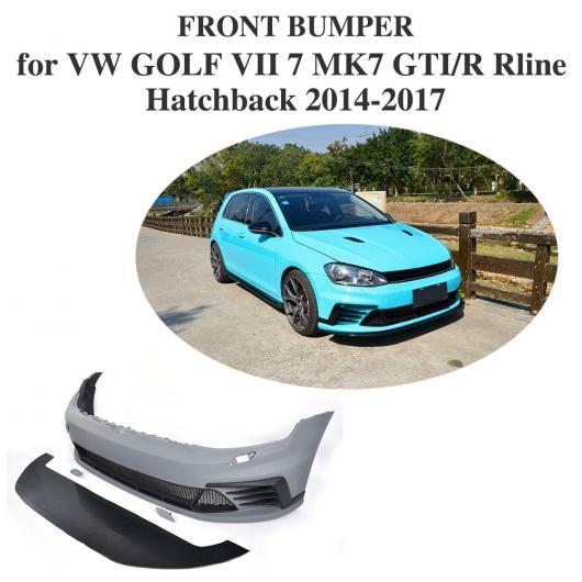 7 AL GTI R キット ゴルフ ボディ ハッチバック VII 車用外装パーツ 適用: フロント AL-DD-8342 バンパー MK7 Rライン PU 2014-2017 VW 未塗装