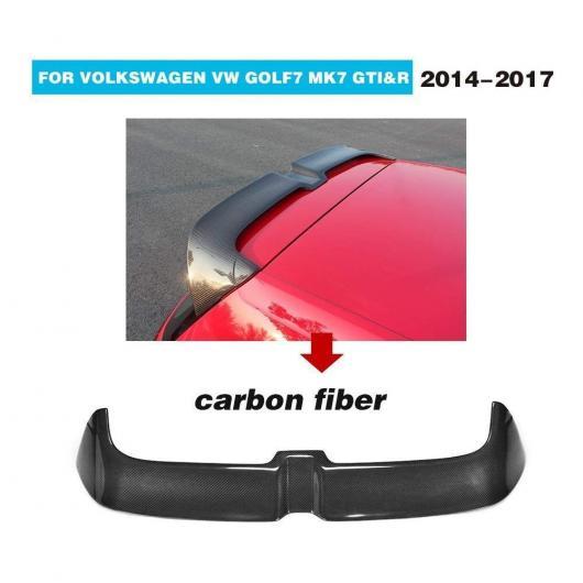 AL 車用外装パーツ カーボンファイバー リア ルーフ トランク ウイング スポイラー 適用: フォルクスワーゲン ゴルフ 7 VII MK 7 7.5 GT-I&R&R-LINE 2014 2015 2016 2017 2018 AL-DD-8381