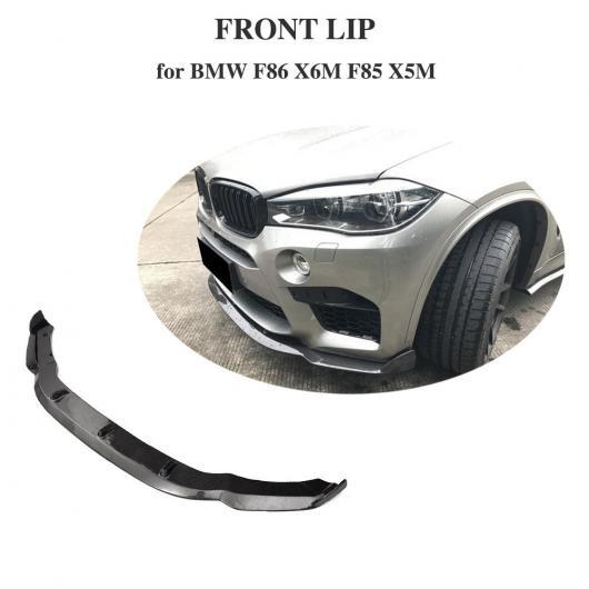 AL 車用外装パーツ カーボンファイバー フロント バンパー リップ スポイラー バンパー ガード プロテクター 適用: BMW F85 X5M F86 X6M 2014-2018 AL-DD-8401