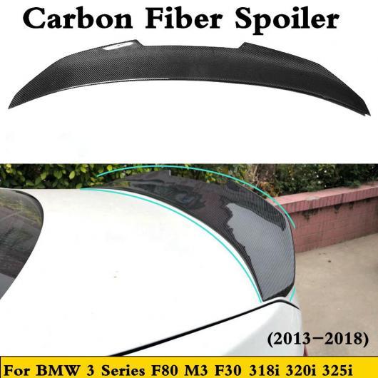 AL 車用外装パーツ 適用: F80 M3 カーボンファイバー リア スポイラー ブート リップ 適用: BMW F30 3 シリーズ 320i 325i 318D 316D 328i 335i 330E 330i 340i 2013-2018 AL-DD-8575