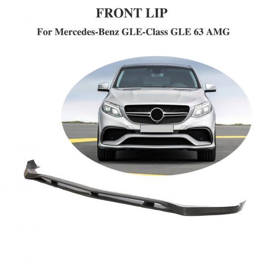 AL 車用外装パーツ フロント リップ スポイラー バンパー チン エプロン 適用: メルセデスベンツ GLEクラス CLE63 AMG 2015-2018 カーボンファイバー AL-DD-8578