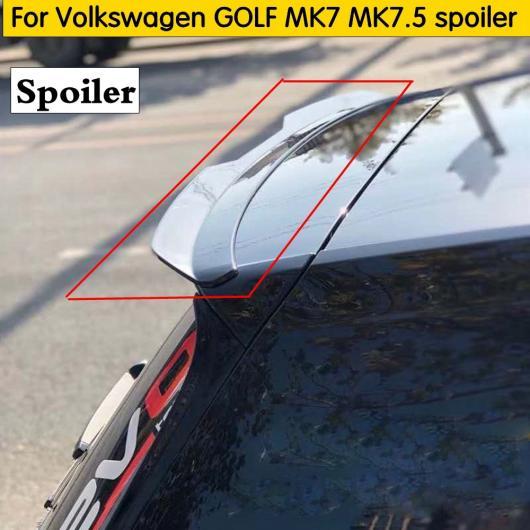 AL 車用外装パーツ 適用: フォルクスワーゲン ゴルフ MK7 MK7.5 スポイラー 2014-2019 ゴルフ 7 ゴルフ 7.5 スポイラー 素材 リア ウイング ブラック~ダークグレー AL-DD-8631