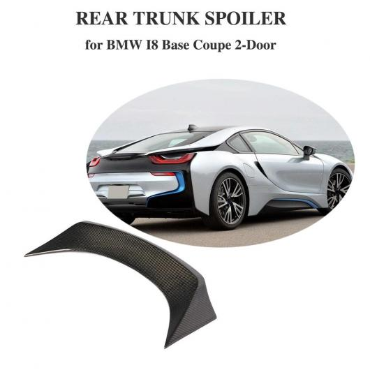 AL 車用外装パーツ リア スポイラー 適用: BMW i8 カーボンファイバー リア ウイング 適用: BMW i8 2014-2018 カーボンファイバー スポイラー AL-DD-8663
