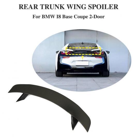 AL 車用外装パーツ カーボンファイバー スポイラー リア ウイング トランク リップ スポイラー 適用: BMW i8 2014 2015 2016 2017 2018 AL-DD-8692
