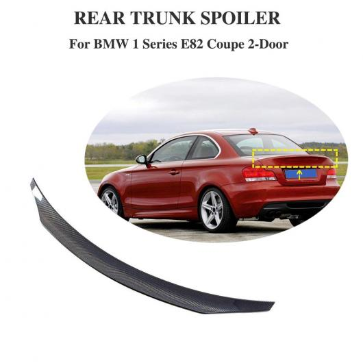 AL 車用外装パーツ 適用: BMW 1 シリーズ E82 135i 128i 2007-2012 リア ウイング スポイラー カーボンファイバー ブランド ウイングS スポイラーS トランク メンバー ディフューザー AL-DD-8797
