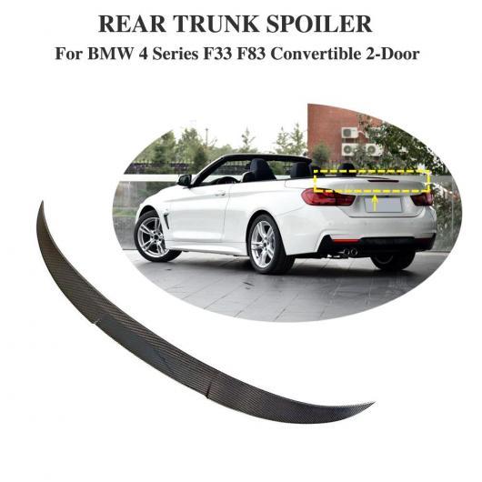 AL 車用外装パーツ F32 スポイラー トランク リア ウイング テール カーボン 適用: BMW F33 F83 420i 428i 435i 440 リア スポイラー トランク ウイング テール コンバーチブル 2ドア 13 AL-DD-8798