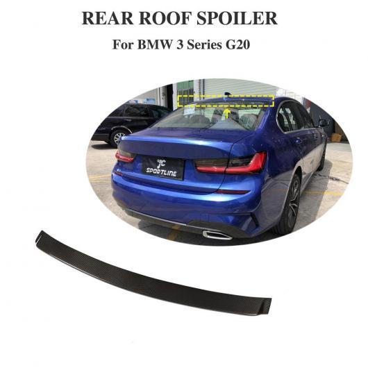 AL 車用外装パーツ G20 カーボンファイバー トランク ブート リア ウインドウ リップ 適用: BMW 3 シリーズ G20 G28 2019 リア ウイング リップ スポイラー AL-DD-8822