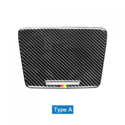 AL 車用外装パーツ 適用: メルセデスベンツ W205 GLC C180 C200 C300 ステッカー トリム カップホルダー パネル カバー ステッカー カーボン ・ ストリップ AL-DD-7623