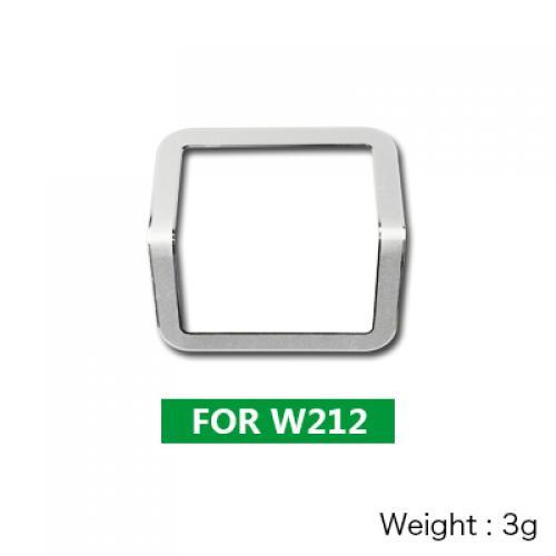 AL 車用外装パーツ 合金 適用: メルセデスベンツ W212 トリム 適用: W212 メルセデス W212 AMG ステッカー リア トランク メンバー ライト フレーム シルバー AL-DD-7625