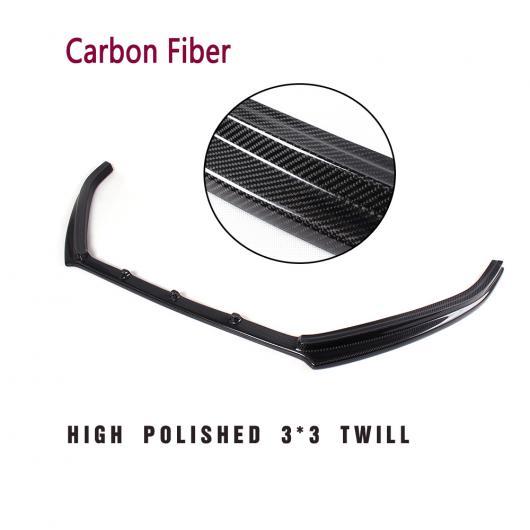 AL 車用外装パーツ フロント バンパー リップ スポイラー チン 適用: フォルクスワーゲン VW ポロ GTI ハッチバック 2013 2014 カーボンファイバー AL-DD-7878