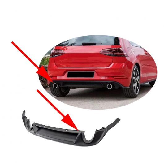 AL 車用外装パーツ PP リア バンパー ディフューザー リップ スポイラー 適用: フォルクスワーゲン VW ゴルフ 7 MK7 7.5 スタンダード GTI 2017 2018 2019 サークル AL-DD-8403