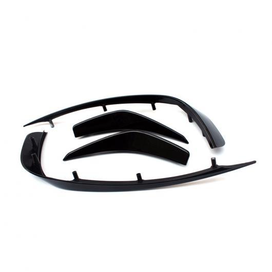 AL 車用外装パーツ 適用: メルセデスベンツ GLAクラス X156 GLA200 GLA250 スポーツ ユーティリティ 2014 2015 2016 2017 フロント フォグ ランプ トリム エア 吹き出し口 カーボンファイバー ABS ABS AL-DD-8518
