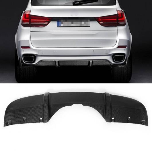 AL 車用外装パーツ X5 F15 Mスポーツ カーボンファイバー リア バンパー リップ ディフューザー サイド スプリット 適用: BMW X5 F15 Mテック 2014-2018 グレー AL-DD-8632