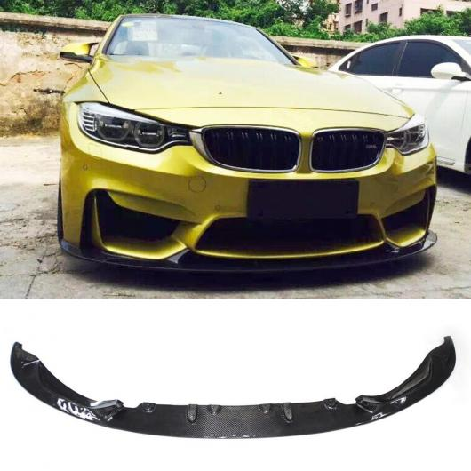 AL 車用外装パーツ 適用: F80 F82 F83 スタイリング カーボンファイバー フロント リップ 適用: BMW F80 F82 F83 M3 M4 レーシング フロント バンパー リップ スポイラー 2012-2018 ダークグレー AL-DD-8658
