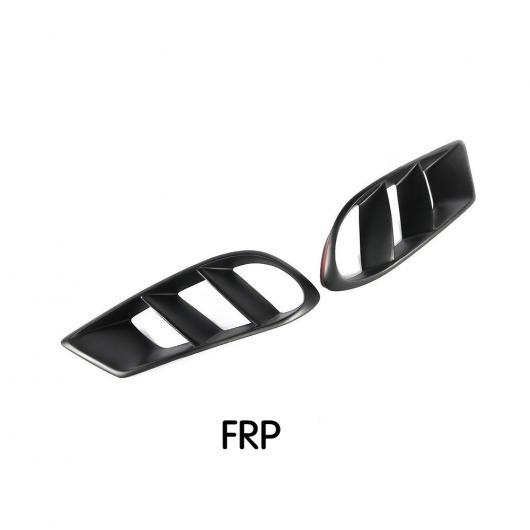 AL 車用外装パーツ カーボンファイバー フロント バンパー エア 吹き出し口 カバー トリム メッシュ グリル フレーム 適用: メルセデスベンツ CLSクラス W218 スポーツ 2014-2017 ブラック AL-DD-8782