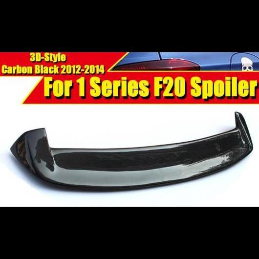 AL 車用外装パーツ F20 3D スタイル カーボンファイバー ウイング テール スポイラー 適用: BMW 1シリーズ 118i 120i 128i 130i 135i リア トランク 2012-14 タイプ001 AL-EE-0652