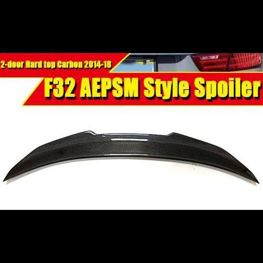 AL 車用外装パーツ F32 2ドア ハード トップ スポイラー ダックビル トランク リア ウイング テール スタイル カーボン 適用: BMW 4シリーズ 420i 428i 435i 2014-18 タイプ001 AL-EE-0659