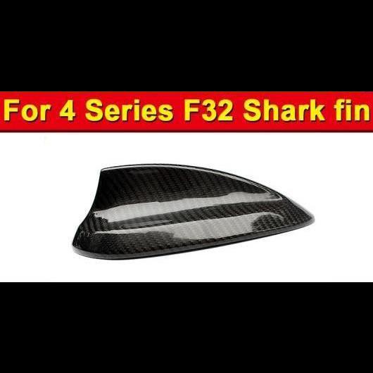 AL 車用外装パーツ F32 カーボン シャーク フィン 光沢ブラック 適用: BMW 2ドア ハード トップ 4シリーズ 420i 428iXD 430i 435i ルーフ アンテナ カバー 13 タイプ001 AL-EE-0896