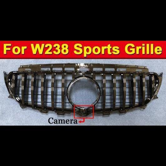 AL 車用外装パーツ GT R スタイル グリッド W238 スポーツ ABS 光沢ブラック 適用: メルセデス Eクラス E200 E250 E300 E350 E400 グリル 2016 タイプ001 AL-EE-1046