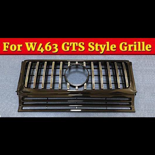 AL 車用外装パーツ 適用: メルセデスベンツ Gクラス W463 グリッド GT R スタイル グリル スポーツ ABS シルバー G500 G550 グリル 1990-18 タイプ001 AL-EE-1089