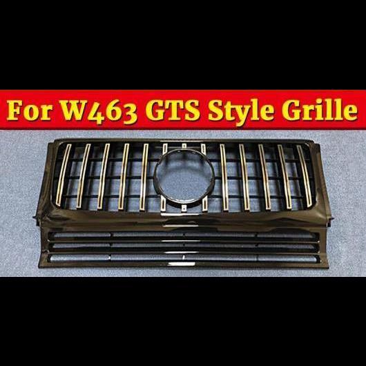 AL 車用外装パーツ W463 グリッド GT グリル 適用: メルセデスベンツ Gクラス スポーツ G500 G550 ABS シルバー フロント グリッド 1990-18 タイプ001 AL-EE-1090