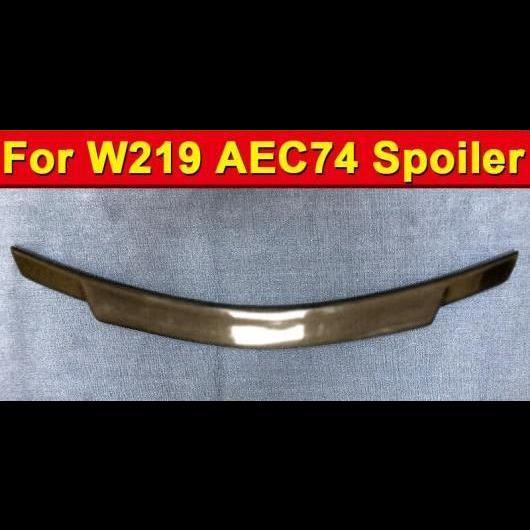 AL 車用外装パーツ 適用: メルセデスベンツ W219 CLS スポイラー AEC74 スタイル テール ウイング CLS-クラス 350 400 FRP 未塗装 リア トランク 2004-2010 タイプ001 AL-EE-1127