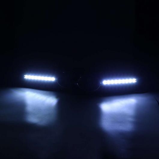 AL 車用外装パーツ ハニカム メッシュ フロント グリッド グリル カバー フロー LED フォグライト ランプ ターンシグナル ライト 適用: アウディ A5 Sライン S5 B8 RS5 2008-2012 AL-EE-0808