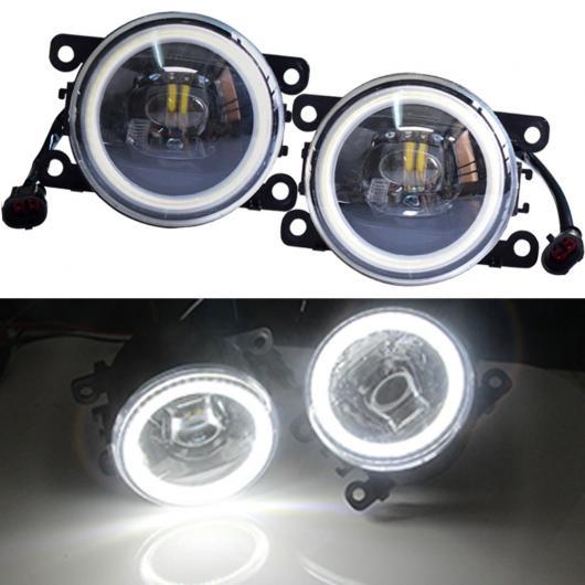AL カースタイリング スーパー ブライト 12V LED フォグライト 適用: オペル シグナム ハッチバック 2003-2015 高輝度 ハロゲン フォグランプ エンジェル アイ・レンズ AL-EE-3880