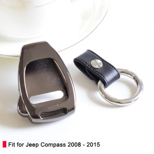 AL 亜鉛合金 キー カバー ウォレット ケース シェル 適用: クライスラー 300 パトリオット スマート キー セット キーフォブ バッグ ウォレット タイプ001~タイプ003 AL-EE-2966