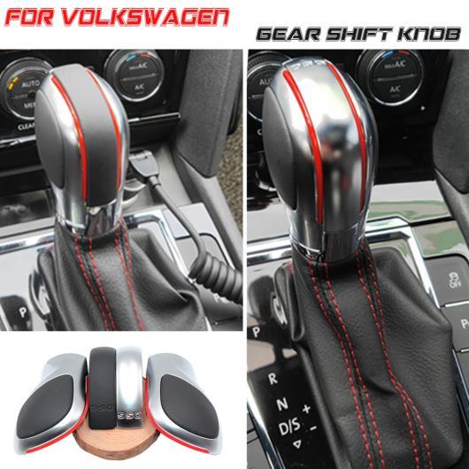 AL 適用: フォルクスワーゲン VW ゴルフ 6 7 R GTI パサート B7 B8 CC R20 ジェッタ MK6 GLI 自動車 ギア スティック ノブ レバー シフター ブラック・イエロー AL-EE-4123