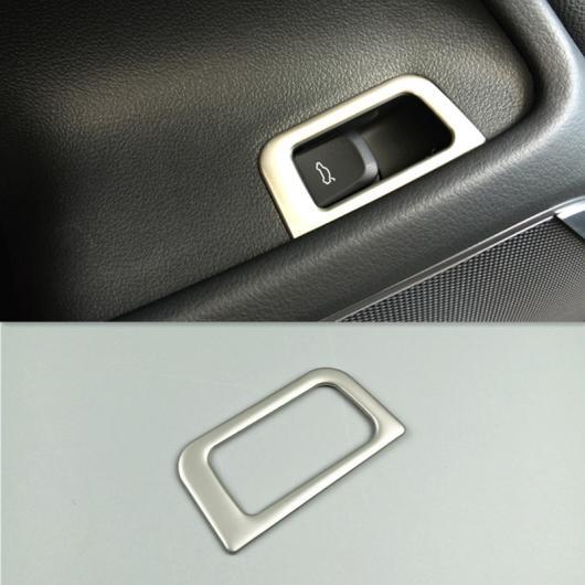 AL トランク スイッチ ボタン 装飾 カバー ステッカー トリム 適用: アウディ A6 C7 2012-2018 シルバー AL-EE-4555