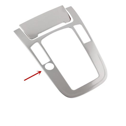 AL コンソール ギア シフト 装飾 フレーム タバコ ライト パネル ステッカー トリム 適用: アウディ Q5 A4 B8 2010-2016 2ピース B AL-EE-4570